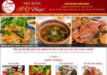 Nhà hàng BQ Sea – Nhà hàng Ninh Bình