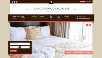 Mẫu website nhà hàng, khách sạn đẹp, có booking, bằng theme wordpress đẹp 2015