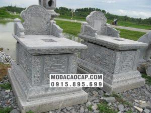 Mo banh da-Hai mộ bành đá đẹp