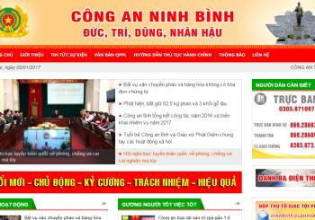 Cong an Tinh Ninh Binh