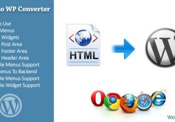 Plugin convert html to wordpress theme