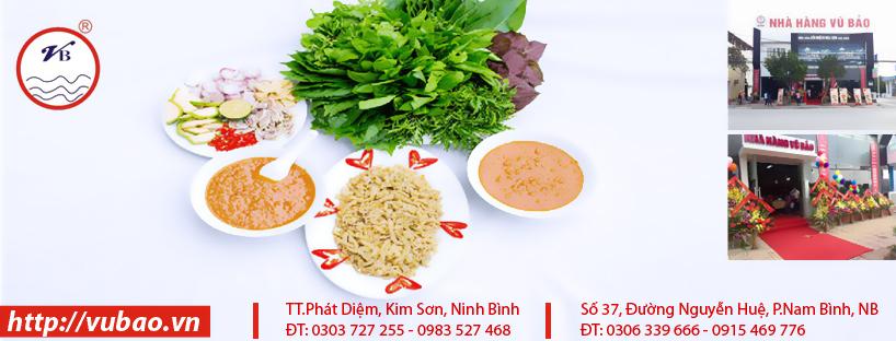 Cham soc Fanpage cho Nha hang Vu Bao tai Ninh Binh