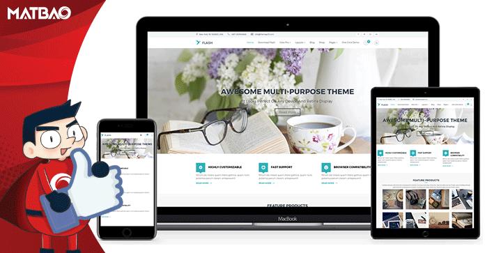 5 theme WordPress miễn phí dành cho bán hàng trực tuyến