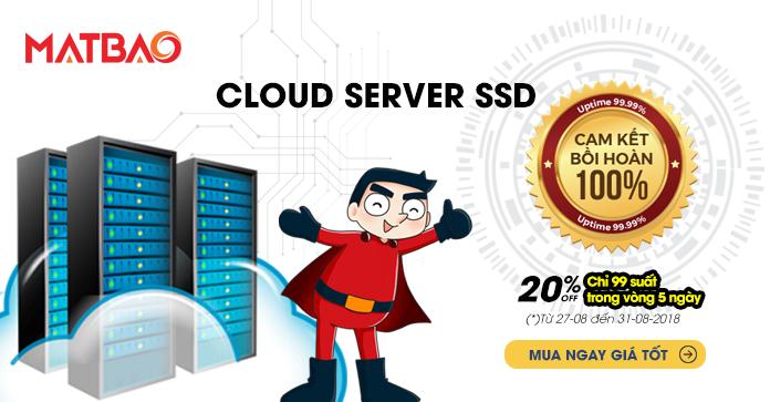 [QC] CLOUD SERVER SSD: CAM KẾT BỒI HOÀN - MUA NGAY GIÁ TỐT
