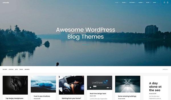 Top 10 theme WordPress dành cho dân viết blog