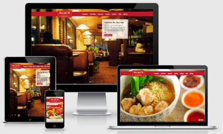 Thiết kế Website Nhà hàng, Khách sạn tại Tây Ninh
