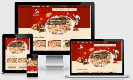 Thiết kế Website Nhà hàng, Khách sạn tại Tiền Giang