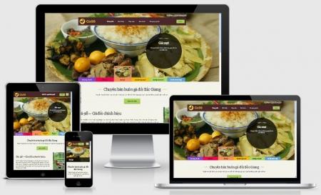 Thiết kế Website Nhà hàng, Khách sạn tại Cần Thơ