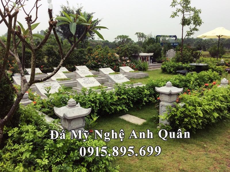 Mẫu Mộ đá ĐẸP Anh Quân tại tại Nam Định