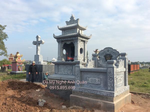 Mẫu Mộ đá ĐẸP Anh Quân tại tại Hà Nội