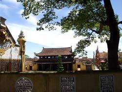 """Kiến trúc """"tiền Phật, hậu thánh"""" ở chùa Keo Hành Thiện"""