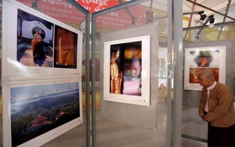 Triển lãm ảnh Phật giáo Trung Hoa tại Myanmar
