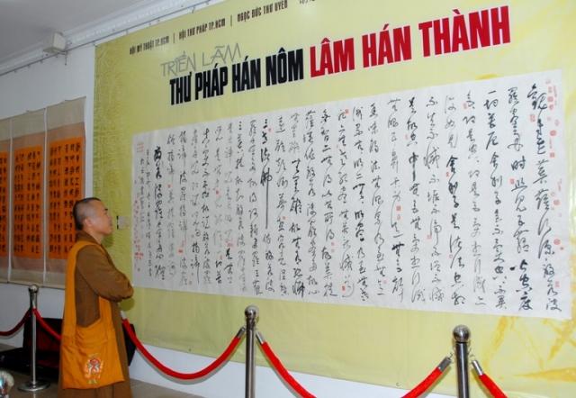 Khai mạc triển lãm thư pháp Xuyên Việt