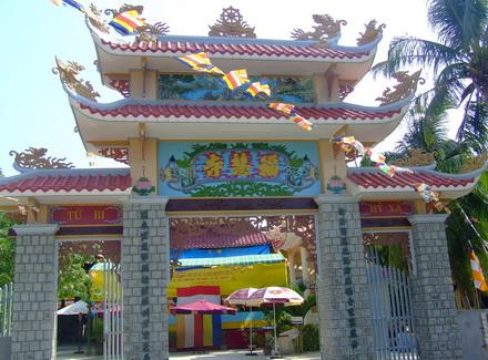 Khánh Hòa: Khánh thành cổng tam quan và giảng đường chùa Phước Huệ - TP. Nha Trang