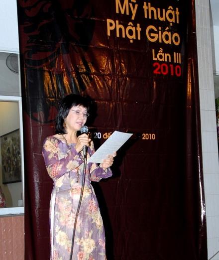 TP.HCM: Khai mạc Triển lãm Mỹ thuật Phật giáo lần 3 - 2010