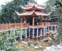 Thêm một cây cầu đẹp cho khu di tích văn hóa Yên Tử