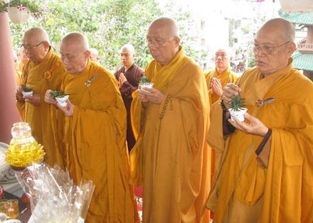 TP.HCM: Tổ đình Ấn Quang an vị Thánh tượng Quan Âm
