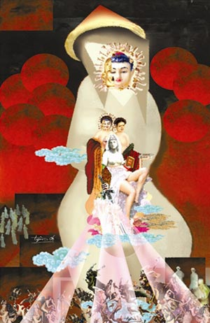 Đạo Phật và tín ngưỡng Việt trong tranh Trịnh Yên