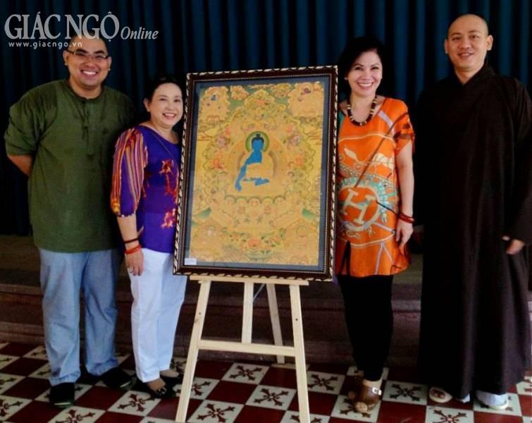 Triển lãm tranh Phật giáo Mật tông Tây Tạng