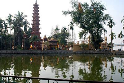 Những ngôi chùa được xây dựng từ thời nhà Lý trên đất Thăng Long