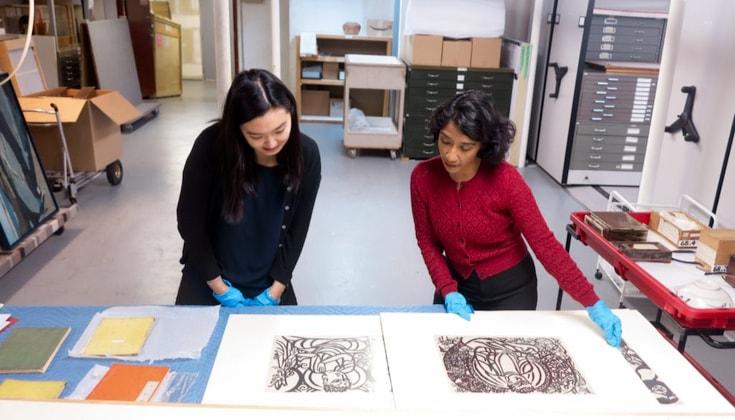 Phật giáo có ảnh hưởng sâu sắc đến hội họa đương đại