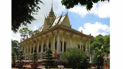 Trà Vinh với những ngôi chùa Khmer