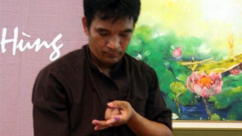Người khám phá nghệ thuật hội hoạ với tranh thiền