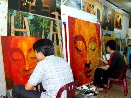Thực trạng Mỹ thuật trang trí đề tài Phật giáo - Kỳ 1: Sản phẩm mỹ thuật Phật giáo: cung & cầu