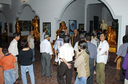 """Triển lãm """"Mỹ thuật Phật giáo"""" lần III - năm 2010"""