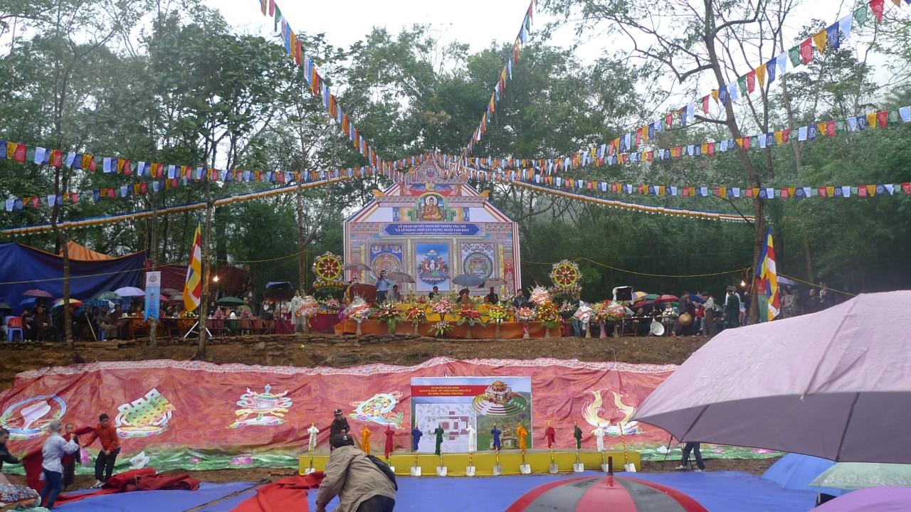 Vĩnh Phúc: Lễ bổ nhiệm Trụ trì & động thổ xây dựng chùa Tây thiên Thăng Long cổ tự