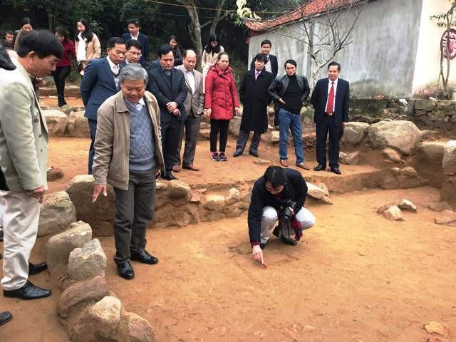 Phát lộ trung tâm tôn giáo thời Trần ở chùa Am Các