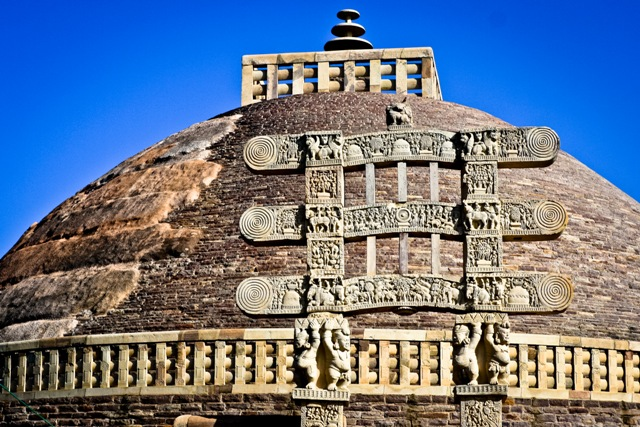Đại tháp Sanchi, đỉnh cao của nghệ thuật PG Ấn Độ