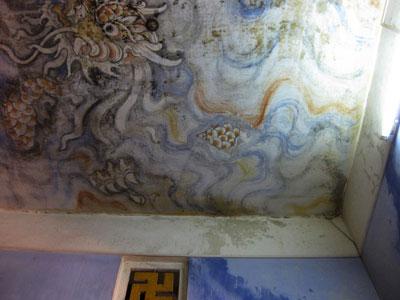 Thừa Thiên - Huế: Bức tranh trên trần chánh điện lớn nhất Việt Nam kêu cứu