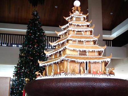 Xây chùa bằng… 180 quả trứng