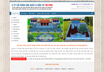 Cong ty Da my nghe - mau website da my nghe dep va hieu qua