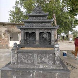 Mẫu Mộ đôi - Mộ đá đôi Ninh Bình đẹp Đá mỹ nghệ Thịnh Hưng.